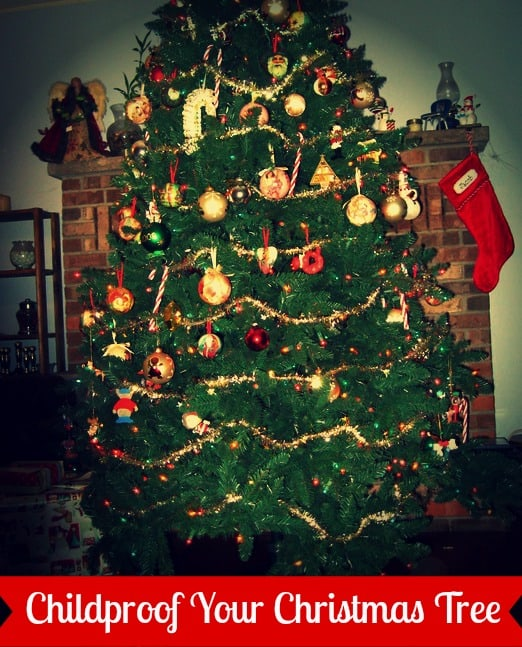 how-to-childproof-a-christmas-tree