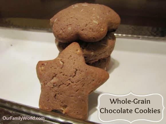 healthy-recipe-whole-grain-chocolate-cookies