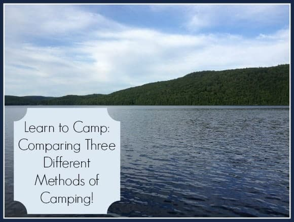 learn-to-camp-camping-options
