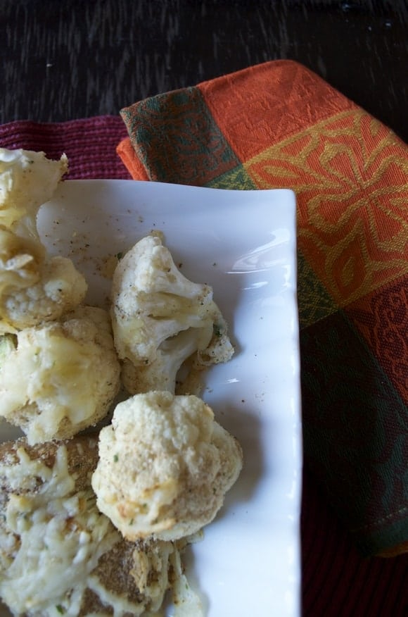 baked-chicken-tenderhs-roasted-cauliflower-with-kraft-sredded-cheese-with-a-touch-of-philadelphia