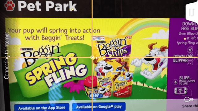 download-blippar-free-app-play-hamlet-beggin-strips-dog