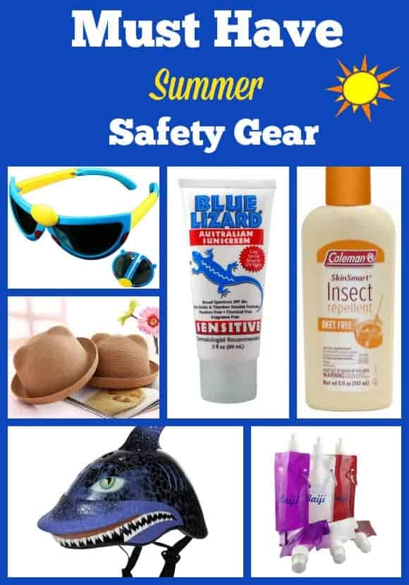 family-summer-safety-gear