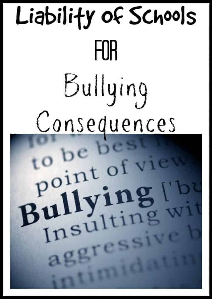 liability-of-schools-for-bullying