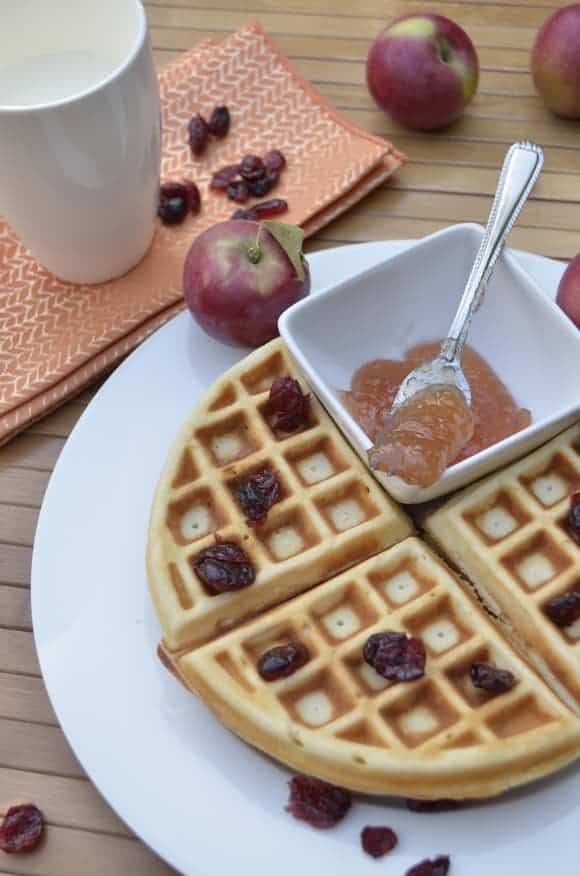 homemade-waffle-recipe-apple-butter-healthy-snack-for-kids