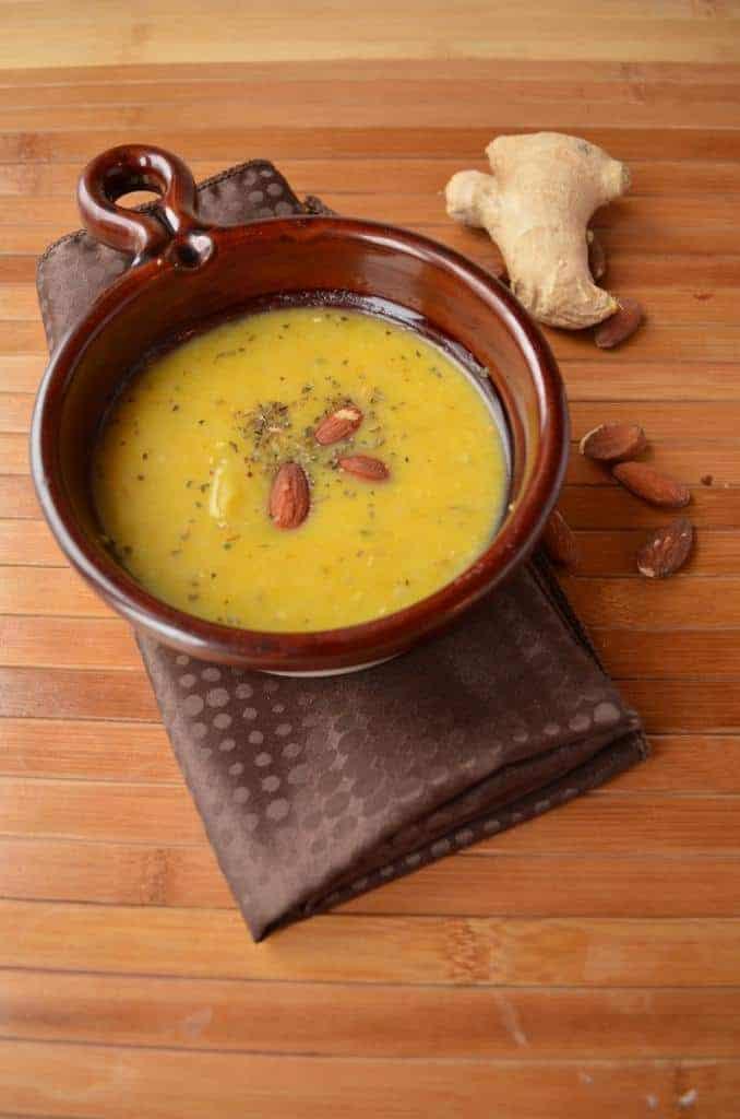 ginger-squash-soup-recipe-almonds