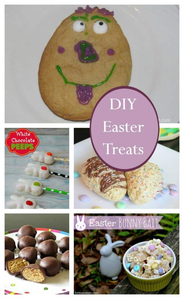 Diy easter basket treat ideas for families our family world diy easter basket treats negle Gallery